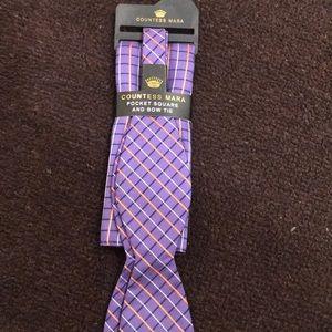 Countess Mara NWOT  bow tie & pocket square